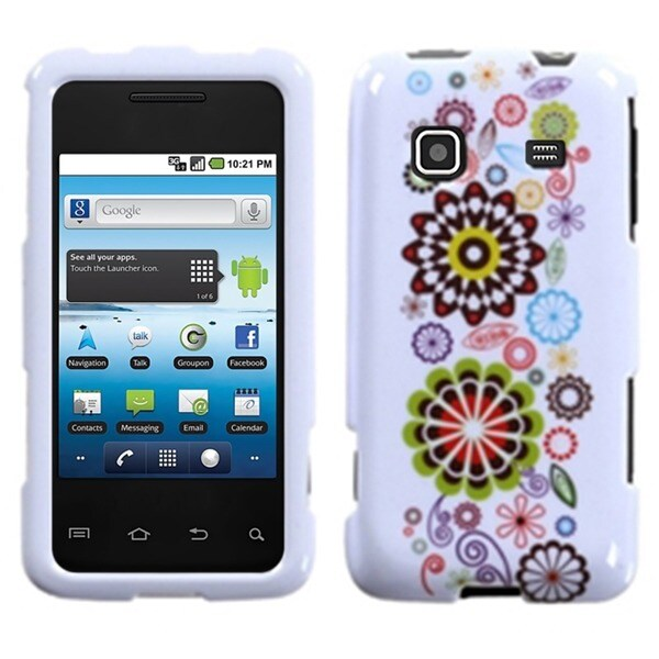 INSTEN Smile Sunflower Case Cover for Samsung Galaxy Prevail M820
