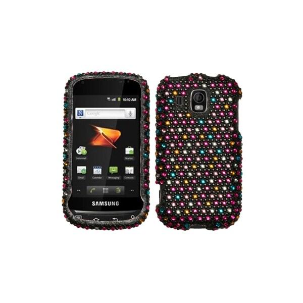 INSTEN Sprinkle Dots Diamante Case Cover for Samsung Transform Ultra M930