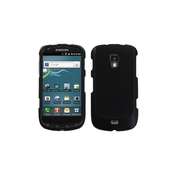 INSTEN Rubberized Black Case Cover for Samsung R930 Galaxy S Aviator