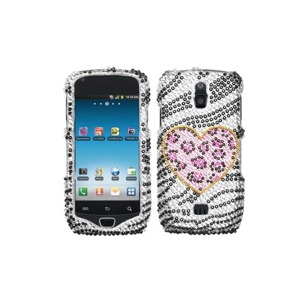 INSTEN Playful Leopard Diamante Case Cover for Samsung T759 Exhibit 4G