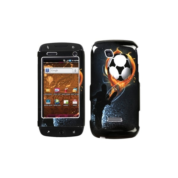INSTEN Soccer Protector Case Cover for Samsung T839 Sidekick 4G