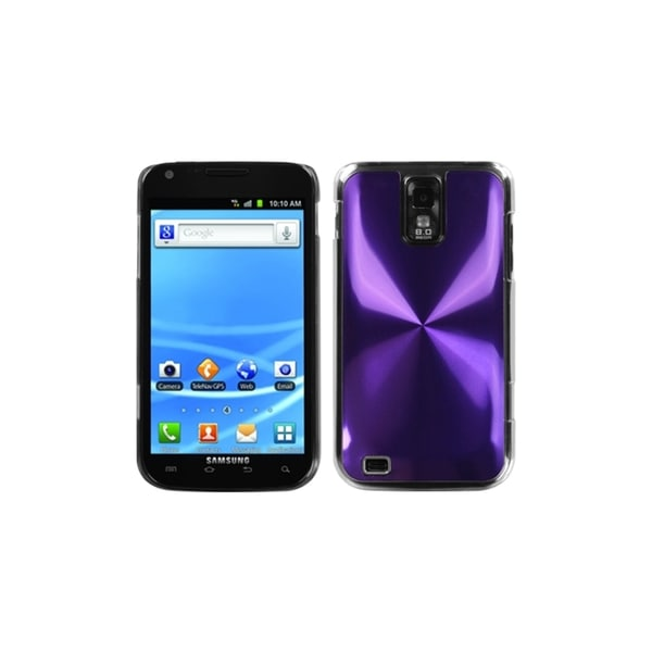INSTEN Purple Cosmo Back Protector Phone Case Cover for Samsung Galaxy S II T989