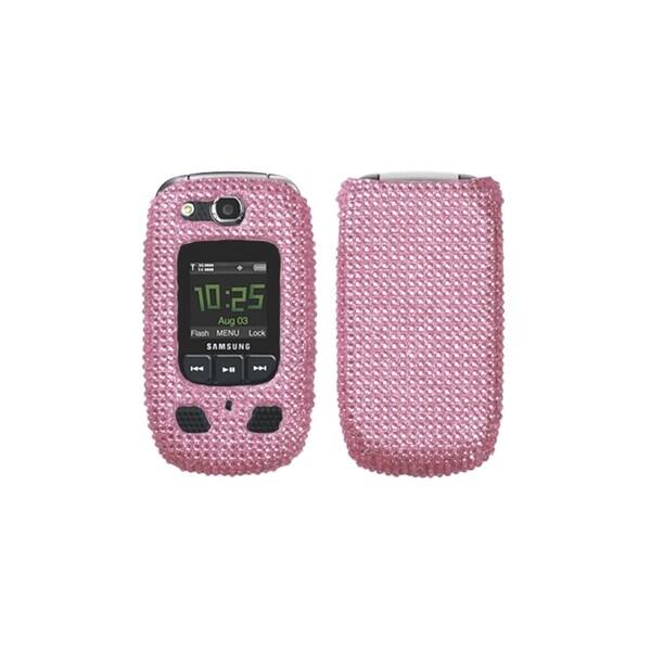 INSTEN Pink Diamante Case Cover for Samsung Convoy 2 U660