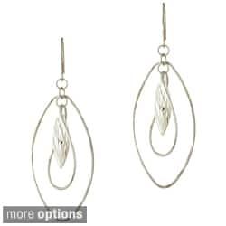 Mondevio Sterling Silver Twist Dangle Earrings|https://ak1.ostkcdn.com/images/products/7753645/Mondevio-Sterling-Silver-Twist-Dangle-Earrings-P15151320.jpg?impolicy=medium