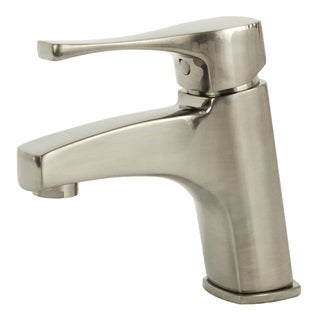 Italia Essenziale Brushed Nickel Bathroom Faucet - Brushed Nickel