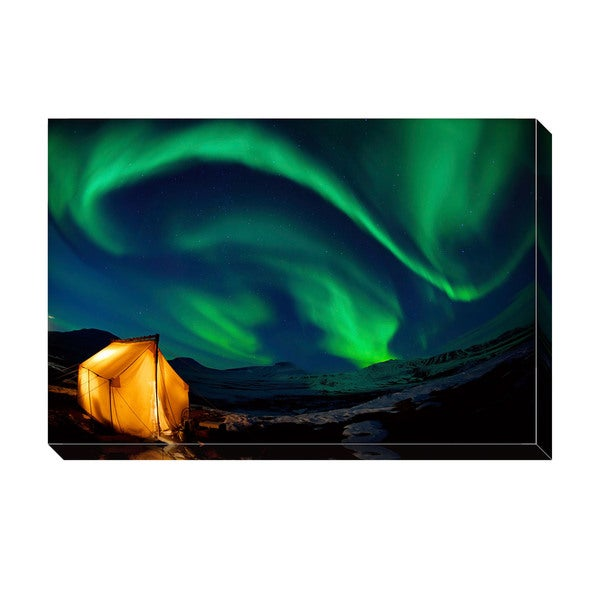 Gallery Direct Northern Lights Oversized Gallery Wrapped Canvas