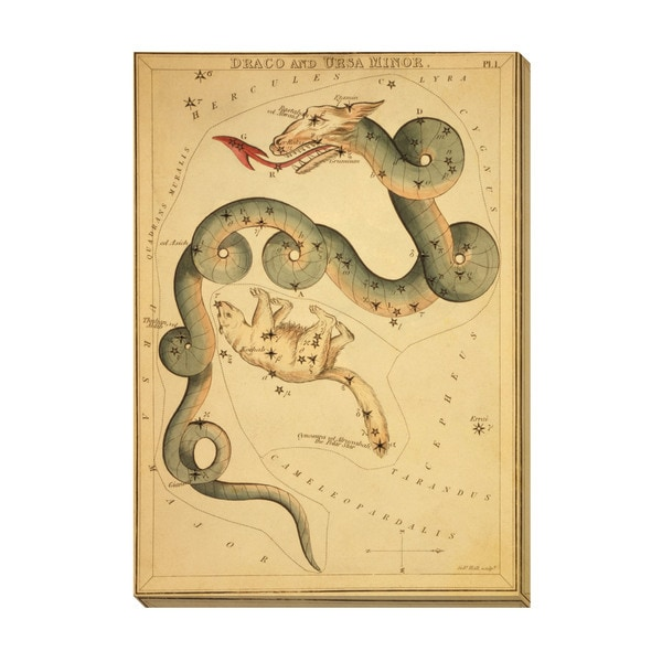 Gallery Direct Draco and Ursa Minor Oversized Gallery Wrapped Canvas