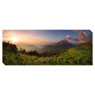 Gallery Direct Roszutec Peak at Sunset Oversized Gallery Wrapped Canvas