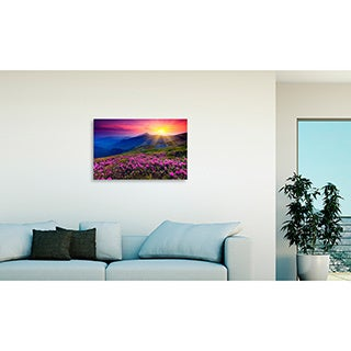 Gallery Direct Mountain Landscape Oversized Gallery Wrapped Canvas