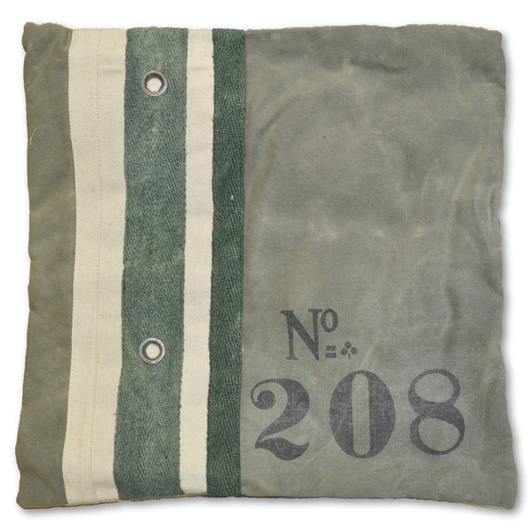 Scott Recycled Canvas Decorative Pillow