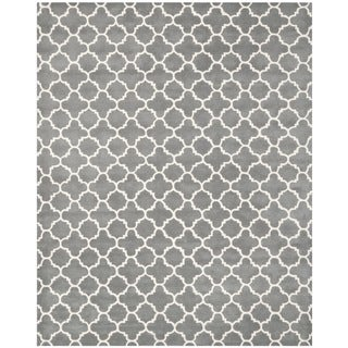 Safavieh Handmade Moroccan Chatham Dark Grey Wool Rug (10' x 14')