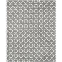 Safavieh Handmade Moroccan Chatham Dark Grey Wool Rug - 10' x 14'