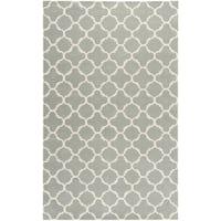 "Safavieh Handmade Thick-Pile Moroccan Grey Wool Rug - 8'9"" x 12'"