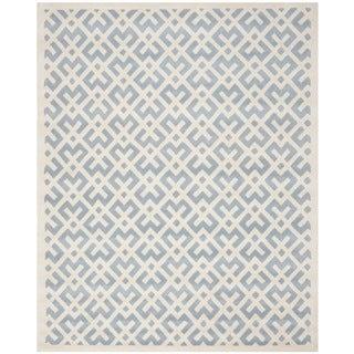 "Safavieh Handmade Moroccan Blue Wool Area Rug (8'9"" x 12')"