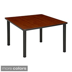 36 inch square table with black post legs square office tables for less   overstock com  rh   overstock com