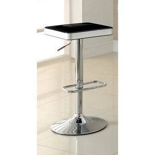 Furniture of America Jetson Adjustable ABS Swivel Bar Table