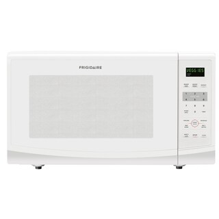 Frigidaire White 2.2 Cubic Foot Countertop Microwave
