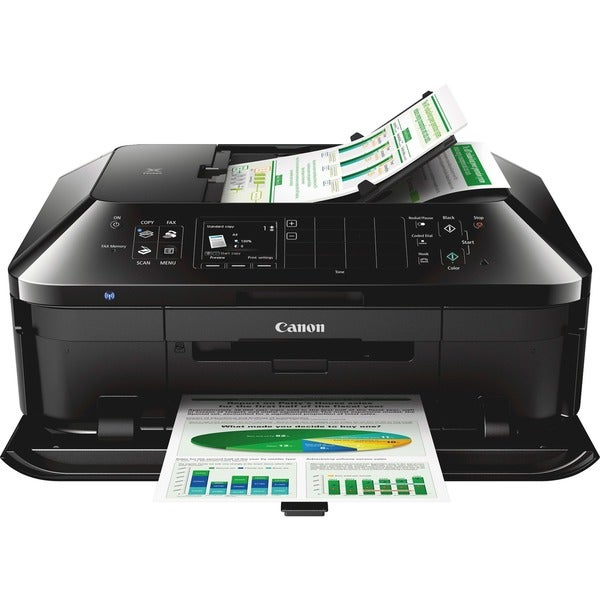 Canon PIXMA MX922 Inkjet Multifunction Printer - Color - Photo/Disc P