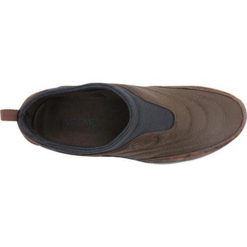 Men's Propet Wash & Wear Slip-on Nylon Brownie/Black - Thumbnail 2