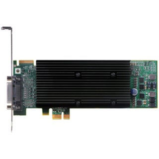 Matrox M9120 Plus Graphic Card - 512 MB DDR2 SDRAM - PCI Express x1