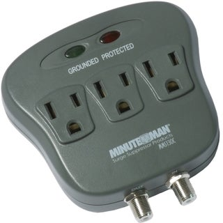 Minuteman 3-Outlets Surge Suppressor