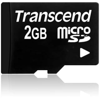 Transcend 2GB microSD Card