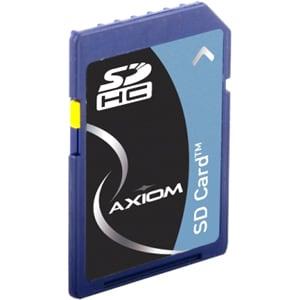 Axiom 8GB Secure Digital High Capacity (SDHC) Class 4 Flash Card