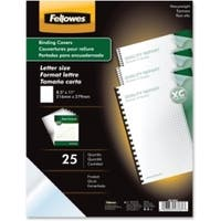 Fellowes Futura™  Presentation Covers Letter, Frosted 25 pk