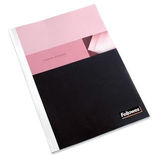 Fellowes Glossy White Standard Thermal Presentation Cover