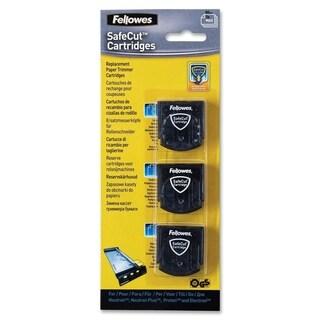 Fellowes SafeCut Rotary Trimmer Blade Kit - 3 Pk Assorted