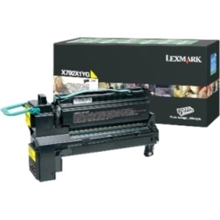 Lexmark X792X2YG Toner Cartridge - Yellow