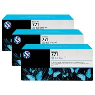 HP 771 Original Ink Cartridge - Light Cyan