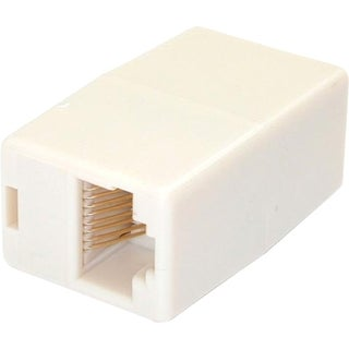 StarTech.com Cat5e RJ45 Modular Inline Coupler - Network coupler - RJ