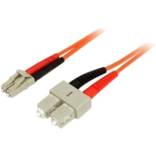 StarTech.com 1m Fiber Optic Cable - Multimode Duplex 50/125 - LSZH -