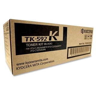 Kyocera TK-592K Original Toner Cartridge - Black