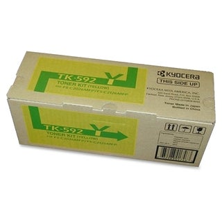 Kyocera TK-592Y Original Toner Cartridge - Yellow