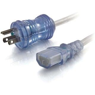 C2G 2ft 16 AWG Hospital Grade Power Cord (NEMA 5-15P to IEC320C13) -