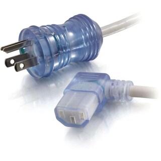 C2G 2ft 16 AWG Hospital Grade Power Cord (NEMA 5-15P to IEC320C13R) -