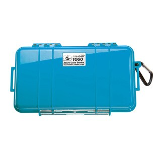 Pelican Blue Micro Case 1060 with Black Liner