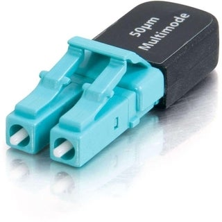 C2G Duplex LC 50/125 Multimode Fiber Optic Loopback