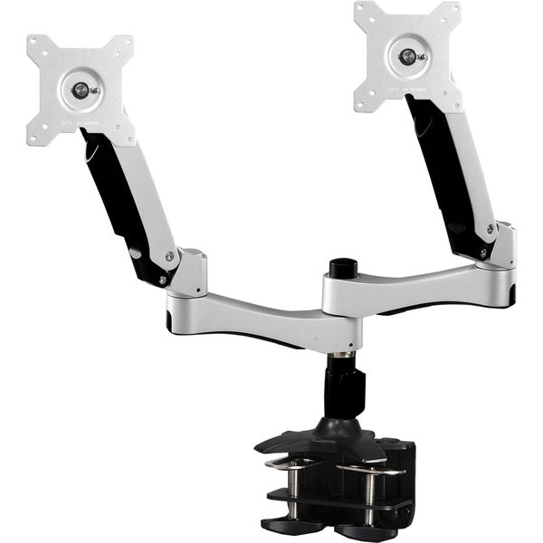 "Amer Mounts Dual Articulating Monitor Arm. Supports two 15""-26"" LCD/LED Flat Panel Screens"