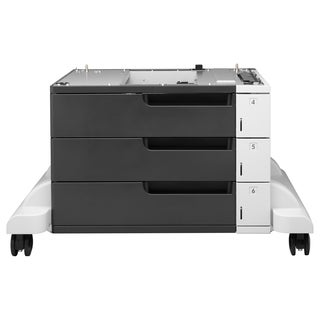 HP LaserJet 3x500-sheet Feeder and Stand