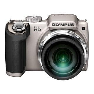 Olympus SP-720UZ iHS 14MP Silver Digital Camera