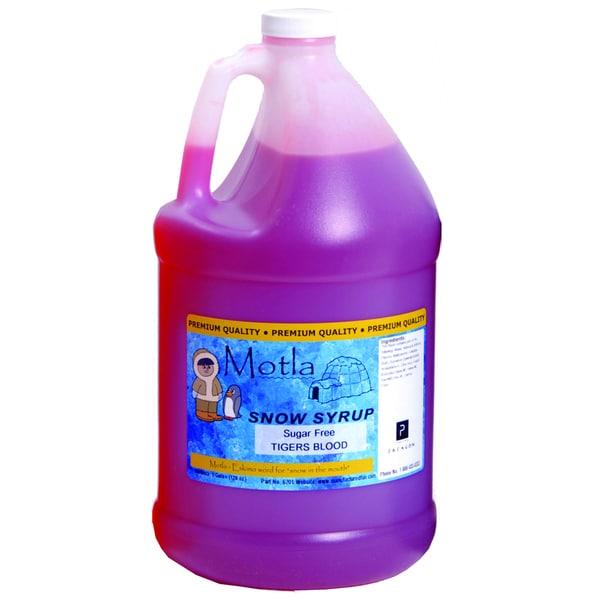 Paragon Motla Sugar Free Tigers Blood 1-gallon Snow Cone Syrup