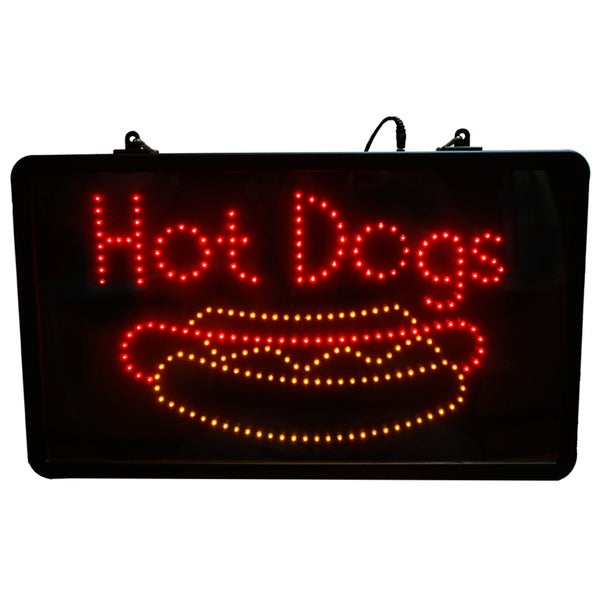 Paragon Hot Dog LED Lighted Sign