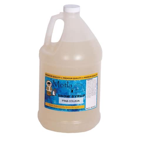 Motla Pina Colada Snow Cone Syrup (1 Gallon)