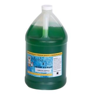 Motla Green Apple Snow Cone Syrup (1 Gallon)