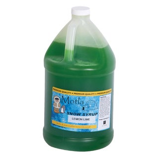 Motla Lemon Lime Snow Cone Syrup (1 gallon)