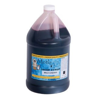 Motla 'Wild Cherry' Snow Cone Syrup (1 Gallon)