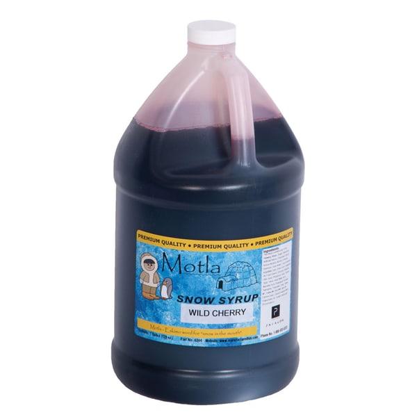 Motla 'Wild Cherry' Snow Cone Syrup (1 Gallon)